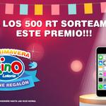 #KinoSePoneRegalón El último desafío: Si logramos 500 RT, este iPhone 5C se sortea entre todos los participantes. http://t.co/XrURpZISiJ
