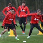 #mufc have been preparing for tomorrows game at Arsenal. Well have a training gallery for you shortly. http://t.co/C8E0L3bj2A