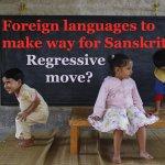 Learning Sanskrit should be made compulsory: Ashok Singhal What do you think on #SankritVsGerman Call 01204341895 NOW http://t.co/IJq0ODI69b