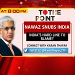 Paks permanent High Commissioner to India @KaranThapar_TTP thinks Modis to be blamed for impasse. http://t.co/e0WuvA6sN0
