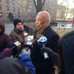 Assemblyman elect Barron claims man unarmed when shot by police in ENY. And man was visiting friend in bldg#1010WINS http://t.co/DcTl2rcLrE