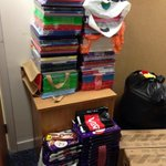 RT @ShaunTymon: Ask @YCHscarboro people to donate some advent calendars to #foodbanks - this is what you get! http://t.co/rITpl11z8J