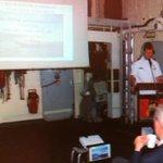 #VanSpeijk Presentatie Operatie ATALANTA over volgende stap #Antipiraterij aan delegatie Europese Unie. http://t.co/BZluE7eO6M