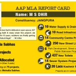 Report card of MS Dhir according to AAP only and now ashu says he was not performing.. Lying then or lying now?? http://t.co/qgp50F9Fpx
