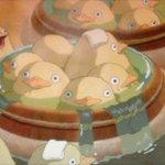 かわいいひよこの容姿をしているキャラクターの名前はオオトリ様。卵のまま生まれてくることができなかったひよこの神様。#千と千尋の神隠し #トリビア http://t.co/7ly9692Pxj