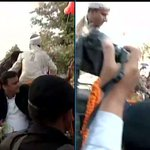 Rampur (UP): SP Chief Mulayam Singh Yadav at his Birthday Celebrations http://t.co/CoWi9P6EWM