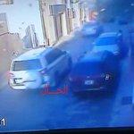 هذي السيارة اللي كانت تلاحق سارة بالأمس في حي الأندلس وأطلقت عليها الرصاص من قبل مجهولين #طرابلس #ليبيا http://t.co/3BWp2MHxcC