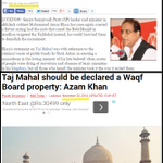 #WahAzamWah You have taken a #Uturn like #MufflerMan . Here is your statement about #Tajmahal in 2013 http://t.co/Cv0aqjZ57W