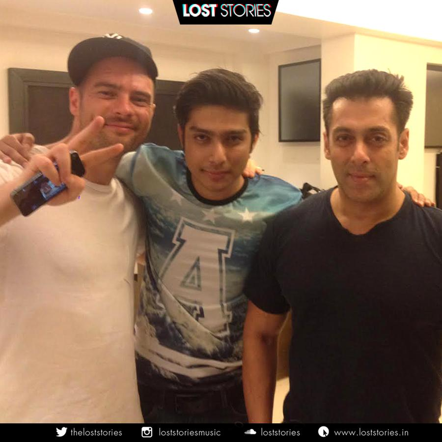 #throwback Good times with our buddies @BeingSalmanKhan and @TomStaar   #loststories #salmankhan http://t.co/I5IsBY6h3W