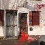 Des zadistes vandalisent la gendarmerie de Sautron en pleine journée : la photo http://t.co/vTCQ6Eh4ae http://t.co/67zjodicXr