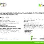 El lunes cartel de lujo para los #aoves de cosecha. Ponencias sobre marketing y salud. Productores y las DOs. http://t.co/a23WSAN8Oc