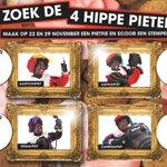 Morgen van 11 tot 3 Zoek de hippe Pieten in centrum #valkenswaard Scoor een stempel en maak kans op mooie prijzen! http://t.co/ThkpWH9chv