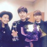 Super Junior キュヒョン、「ミュージックバンク」1位認証ショット(11/21) http://t.co/VZs47PXRKZ