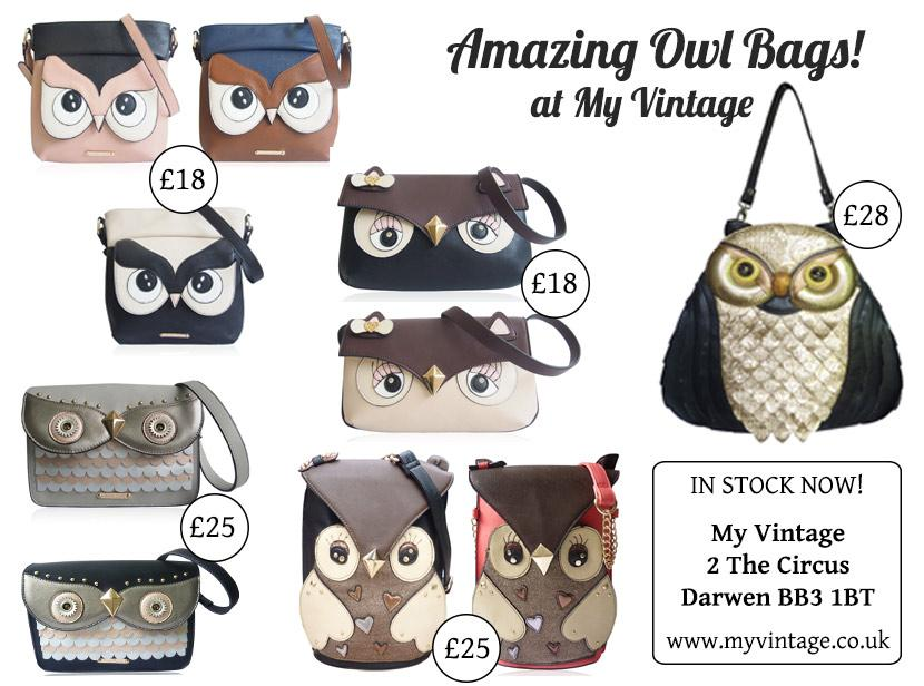 Emma from My Vintage (@emmabphilosophy): Amazing Owl Bags at My Vintage! http://t.co/N78vb6CuVZ http://t.co/7CH58iBGiS