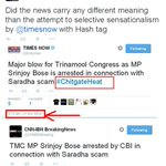 Is Arnab @Timesnow using a #Tag for owning News? Same news is tweeted by another channel at the same time. Why #Tag? http://t.co/9wmGEip2BV