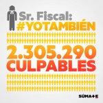 La Fiscalía ya ha presentado la querella contra Mas, Ortega, Rigau. Que lo haga con los 2,3M que participamos el #9N http://t.co/PO05FAHChM