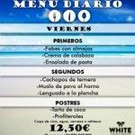 Por fin viernes!!! Vente a comer con nosotros a la playa Hoy te proponemos....@Silvia_alon @kikeradikal #ibiza http://t.co/3umFuEOwBu