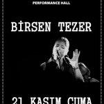 BİRSEN TEZER Bu akşam saat 22:00da SPR PUB sahnesinde. Bu twiti RT yapan 2 kişi Konsere davetiye kazanacaktır. http://t.co/oM1v8Q5whm