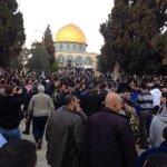 صلاة #الجمعة من #القدس #الأقصى_لنا #القدس_تنتفض http://t.co/1zmr1wLH0M