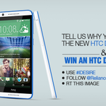 Its contest time! Tell us why you deserve the HTC Desire 820 using #IDesire..and we might just make it come true! http://t.co/2oltFJOirx