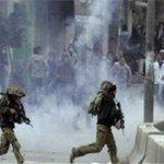 مواجهات بين الشبان وقوات الاحتلال في بلدة الرام بـ #القدس #فلسطين #القدس_أمانتي #القدس_تنتفض http://t.co/fTyWf2L0oT