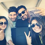 "This gangs havin a field day!! Lol.. #makingthemost ""@AshaNegi7: It's an off day! Yayyyyy!! Enroute waterfront❤️ http://t.co/sKdgr3iwbU"""