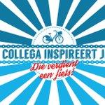 Heb jij een collega die jou heeft geïnspireerd? Die verdient een fiets! Fiets het voort: http://t.co/7ZGPU8RMqv http://t.co/oTQvfqLdUT
