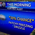 Its going to be hit/miss...but still in the forecast FREEZING DRIZZLE for AM drive. Watching roads @kmbc LIVE NOW http://t.co/QGPIPn2WMW