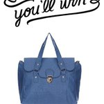 RT & FOLLOW to WIN this beauty! Comp ends soon! #giveaway #comps #competition #JF5P #fbloggers #baglovers #win http://t.co/9PcYdVjaq5