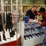 Ferguson gun sales grow as city awaits a grand jury decision in the #MichaelBrown case. @AMHQ Pic: Jeff Roberson @AP http://t.co/cPyT5eRAY3