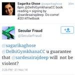LOL: Good Reply By @SecularFraud to @sagarikaghose !:) #WahAzamWah @KiranKS #WahAzamWah @anilkohli54 Azam Khan #Delhi http://t.co/LvOWR9Ww9n