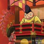 この番台の声、どこかで聞いたことがありませんか?実は俳優の大泉洋さんが声を担当しているんです!!ちなみにこの番台蛙には「声の良さで番台に座ることを許された」という設定があるんですよ。千と千尋の神隠し放送中!#kinro http://t.co/YOHik8nSN7