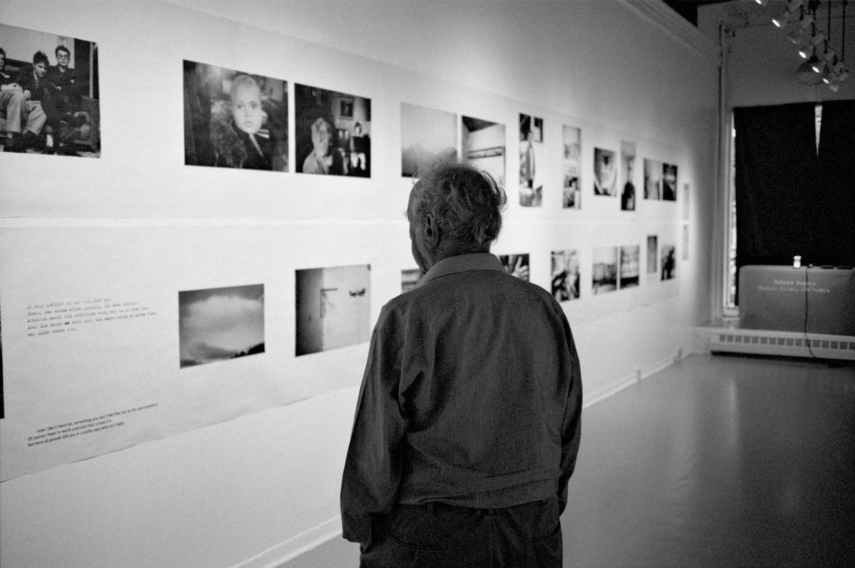 Happy 90th Birthday Robert Frank!  © Gerhard Steidl http://t.co/koXjTgHh56