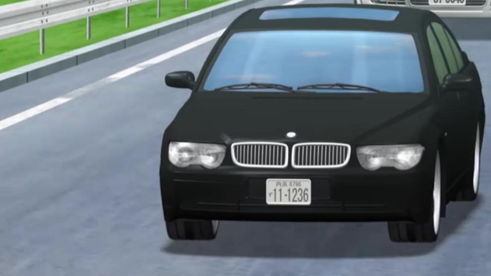 失われた未来を求めて、BMW7シリーズ、しかも型落ち。御曹司が乗る車じゃない。DQN御用達の一品である。