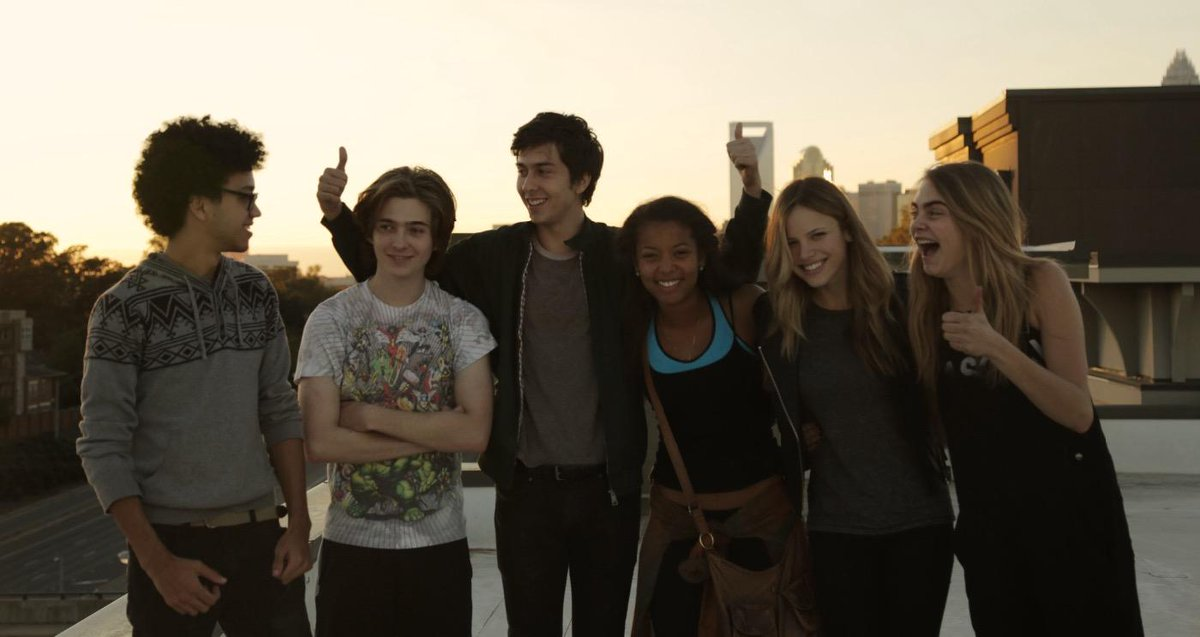 Paper towns crew. Radar, Ben, Q, Angela, Lacey and Margo http://t.co/JJekLuzxOT
