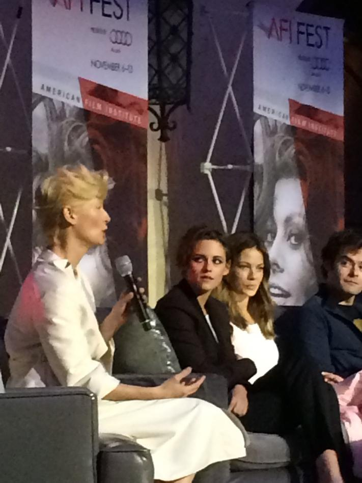 """In the indie film world, you work with chaos. In the studio world, you don't need to."" -Tilda Swinton #afifest http://t.co/T2vazPPYg5"