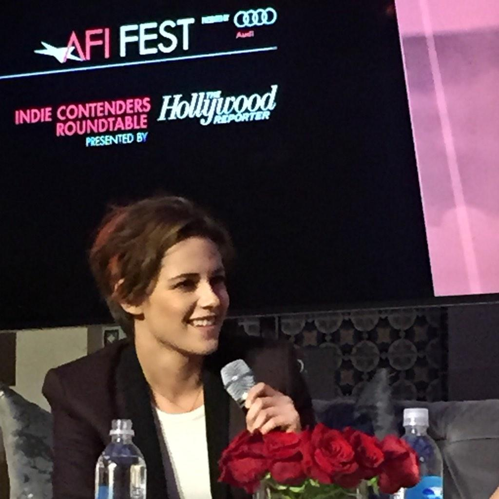 """My advice to my younger self would have been 'dude - calm down'"" #KristenStewart #IndieContendersRoundtable #AFIFEST http://t.co/3A0nx2tPgT"