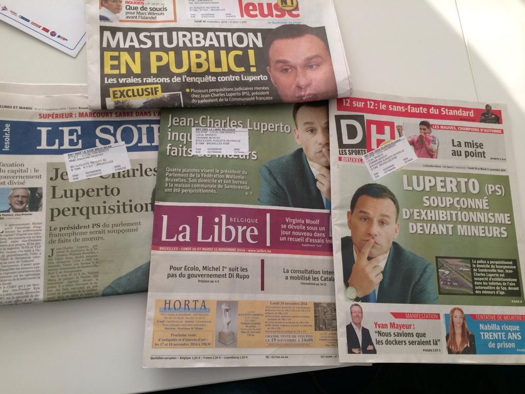 Différents titres, sur l'échelle du journalisme #Luperto http://t.co/0nN5XCzjFf