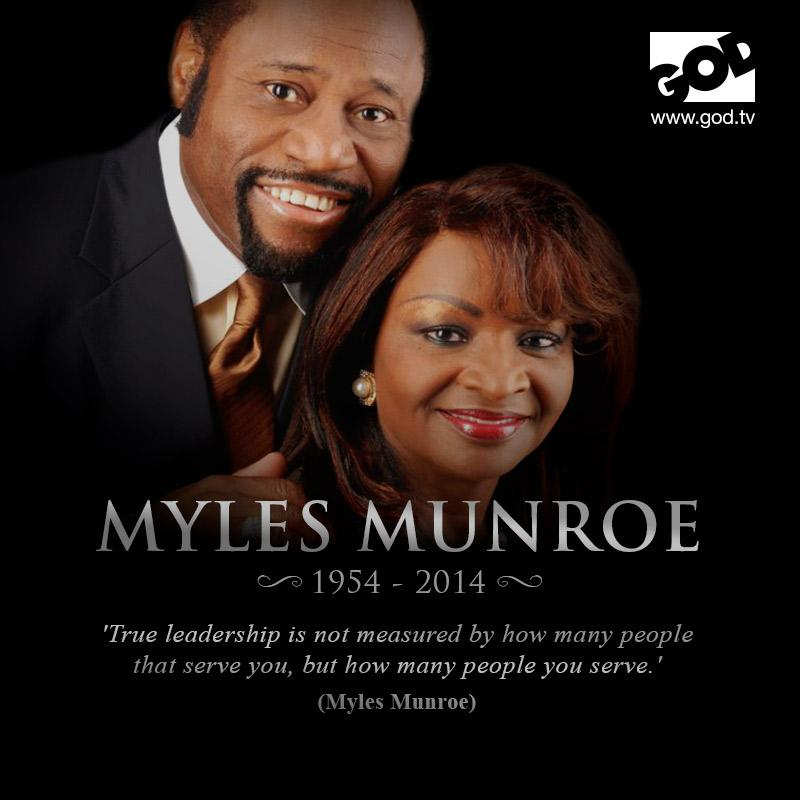 We honour the life of #MylesMunroe - a great leader and humble servant whose example will continue to inspire. http://t.co/GF9K8lWlzZ