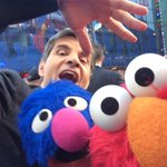 Thanks for stopping by! RT @elmo: Elmo got a selfie with @GStephanopoulos and Grover!!! Thanks @GMA!!! http://t.co/6QxOMdnWCp