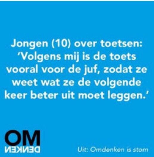 Wat is onderwijs toch een mooi vak! Think out of the box. http://t.co/2NHqe2l5t6