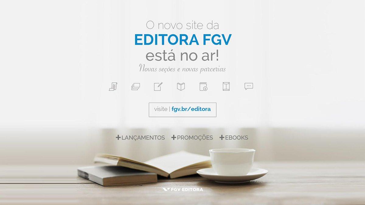 O novo site da @EditoraFGV está no ar! Queremos sua opinião sobre ele  Visite http://t.co/TRTDDWMJJi e comente aqui http://t.co/RXZsnyLmDk