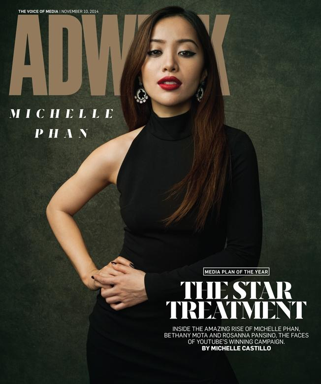 Going out of this world w/ @MichellePhan! So cool seeing my friend on the cover of @adweek! http://t.co/MdFIgHVzGW http://t.co/wZHPZmBJAH