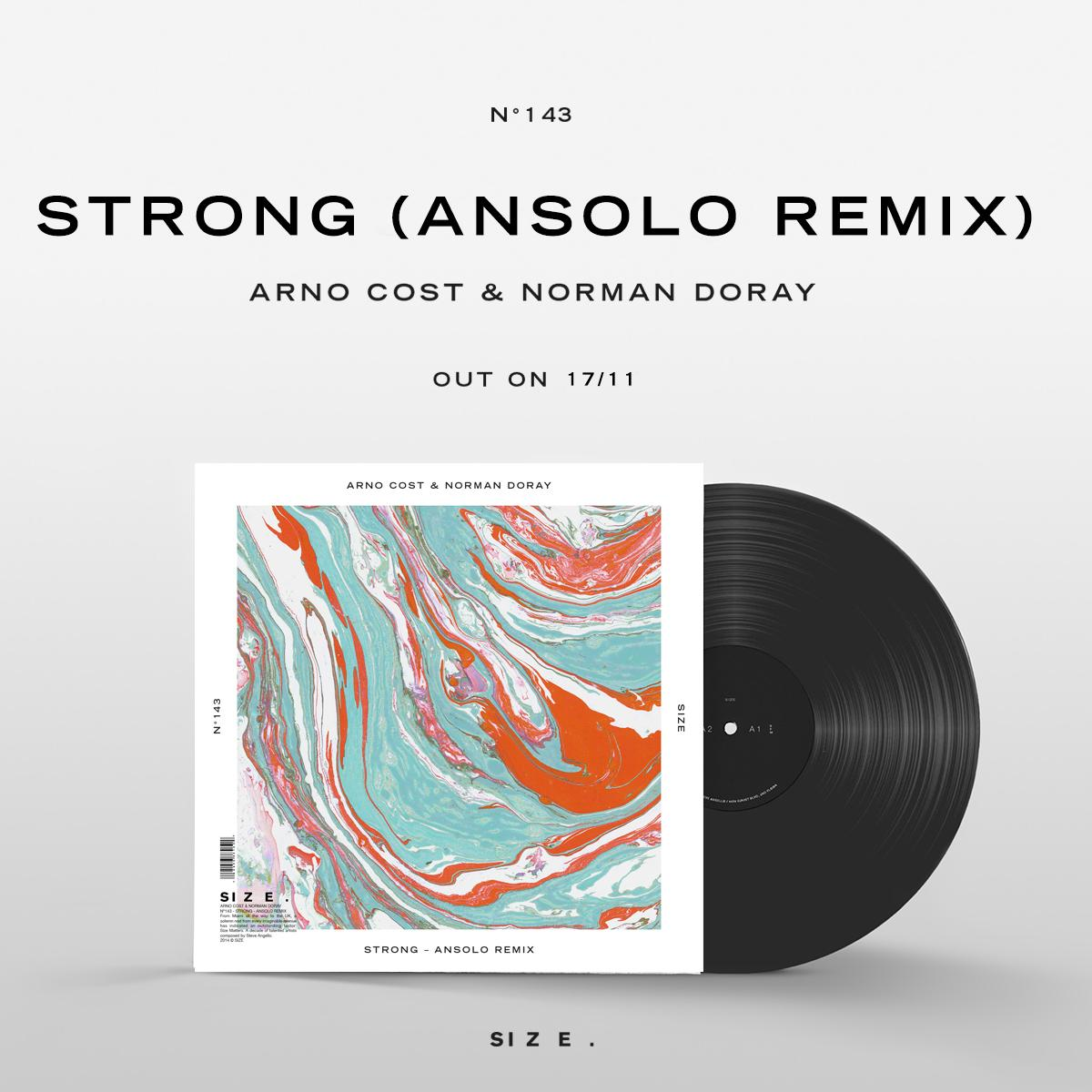 The new release date for @Ansolo_Music's remix of @arnocost & @NormanDoray's 'Strong' is Nov. 17th!! http://t.co/1uDXR1M16L
