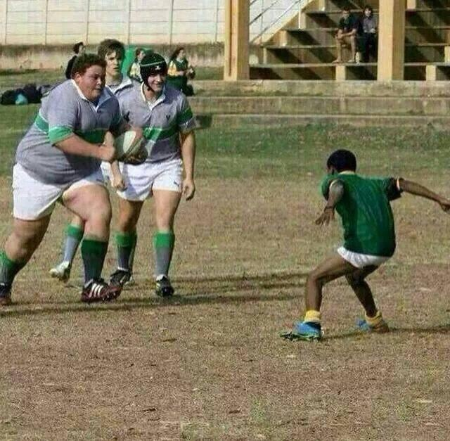 The bigger the Heart, the smaller the Fear! #SchoolRugby #rugby http://t.co/bTBB8HOKQe