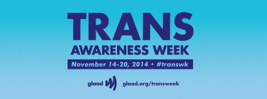 GMHC joins @glaad in participating in Transgender Awareness Week, November 14-20. http://t.co/sBqpvvfiBv