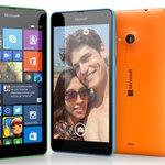 RT @lumia: Say hello to the Microsoft #Lumia535! http://t.co/6GaTkvSLkp http://t.co/bXSP2oyLYU