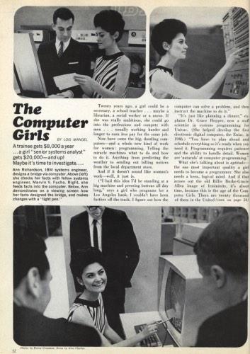TIL: Grace Hopper once gave an interview to Cosmopolitan (http://t.co/tx5oRSvtB6) http://t.co/6LQJnF3Pli