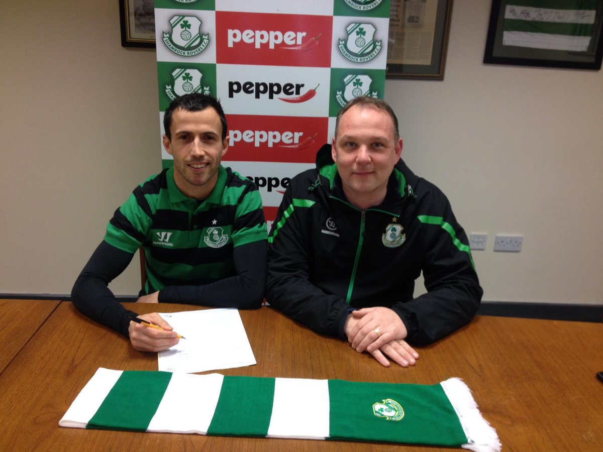 We welcome @Keith_Fahey to @ShamrockRovers http://t.co/lsg7zGZV5Y #Hoops2015 http://t.co/176YG1aGgC