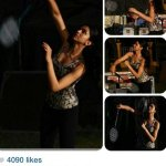 RT @DeepikaPFC: [PIC] Deepika playing Badminton on the sets of Piku (via Deepika's instagram) http://t.co/53YjvZp5iG